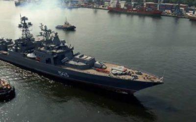 "bpk marshal shaposhnikov pervye ispytaniya — {:ru}Фрегат ""Маршал Шапошников"" - первые ходовые испытания{:}{:en}Frigate ""Marshal Shaposhnikov"" - first sea trials{:}"